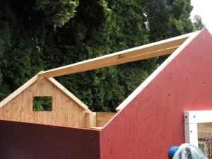 Chicken House Ridge Beams