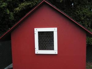 Chicken House Window