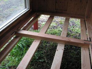 Chicken House Removable Floor - Support Frame