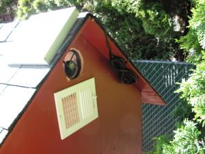 Chicken House Fan